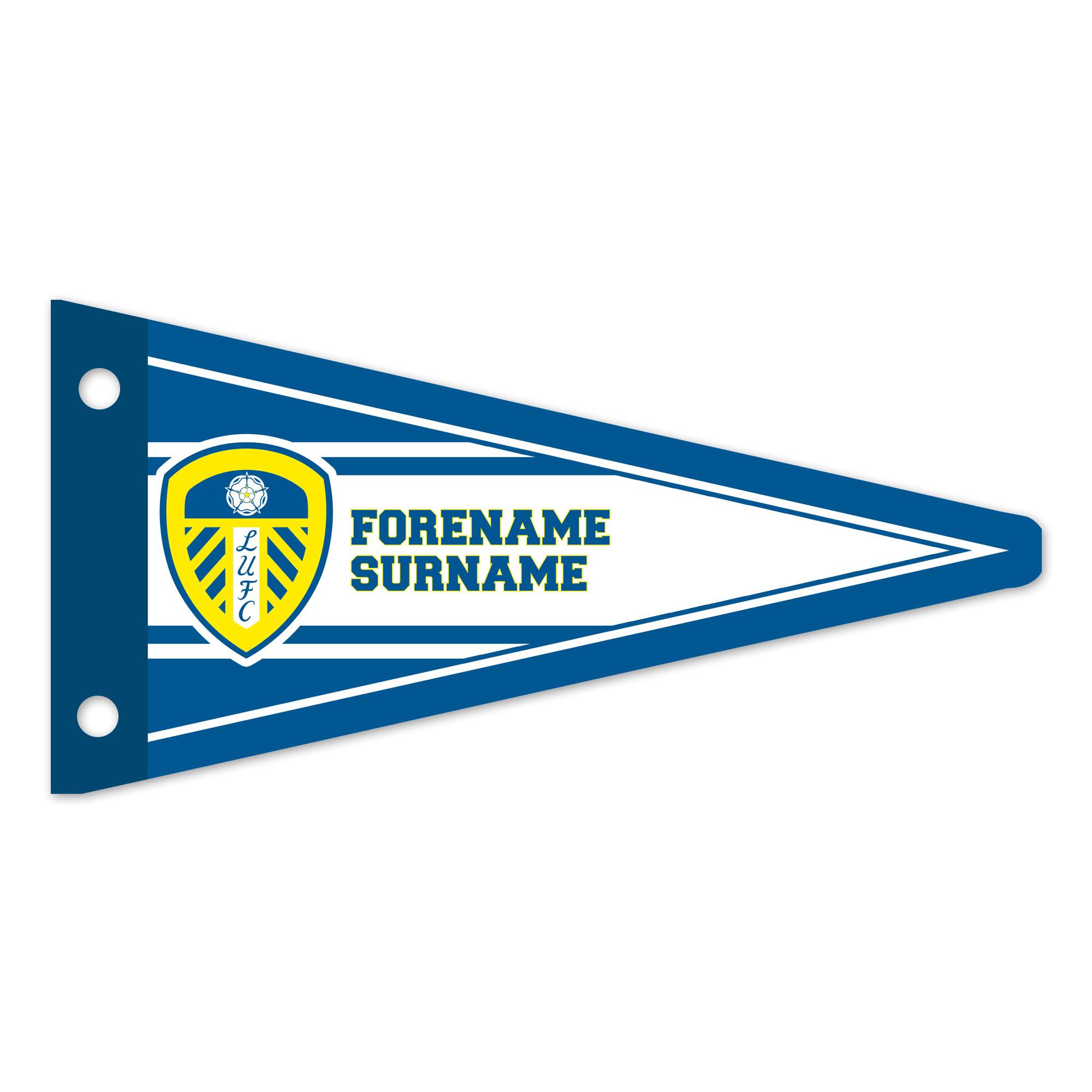 Leeds United FC Varsity Pennant