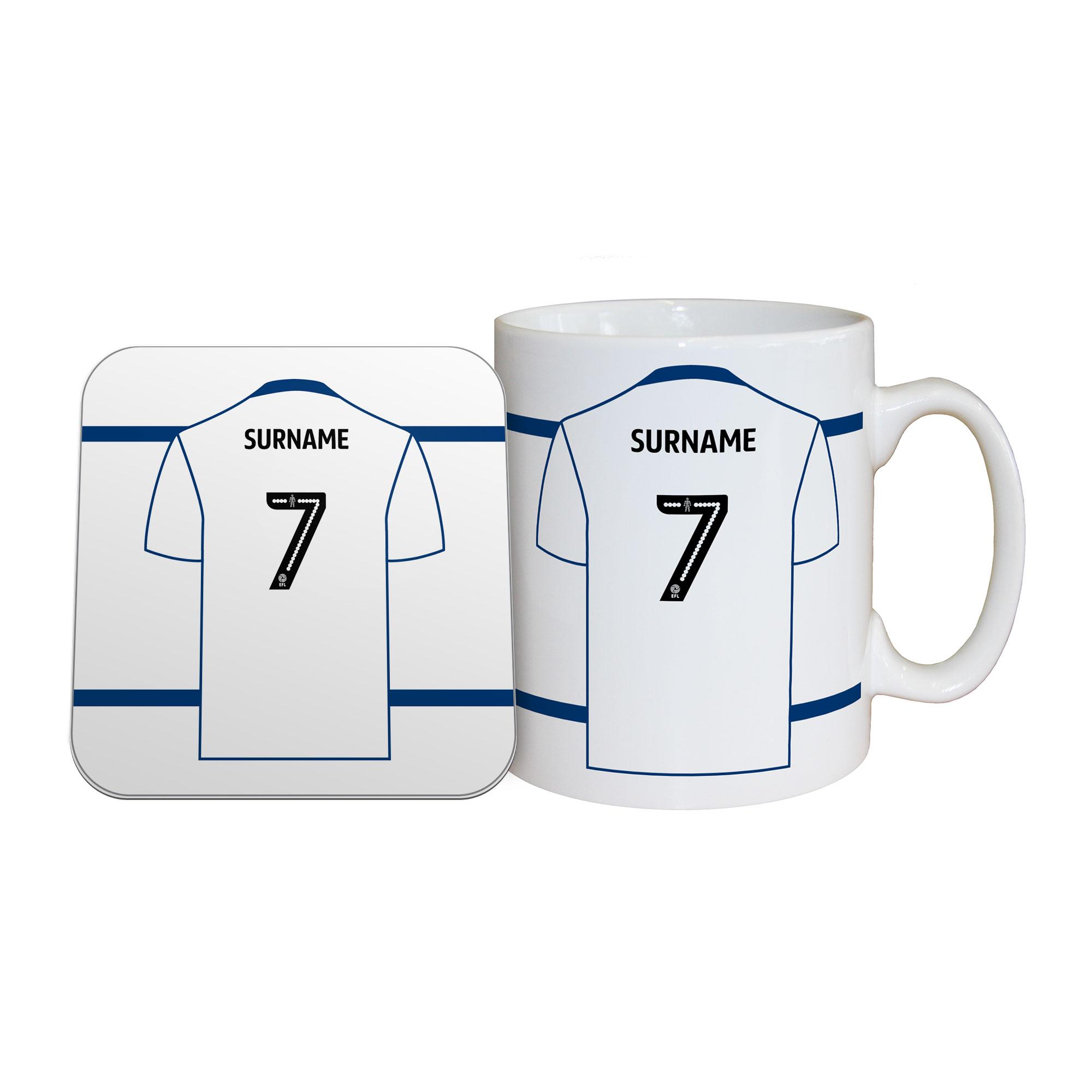 Bolton Wanderers FC Shirt Mug & Coaster Set