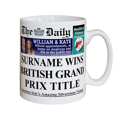 The Daily Grand Prix Mug
