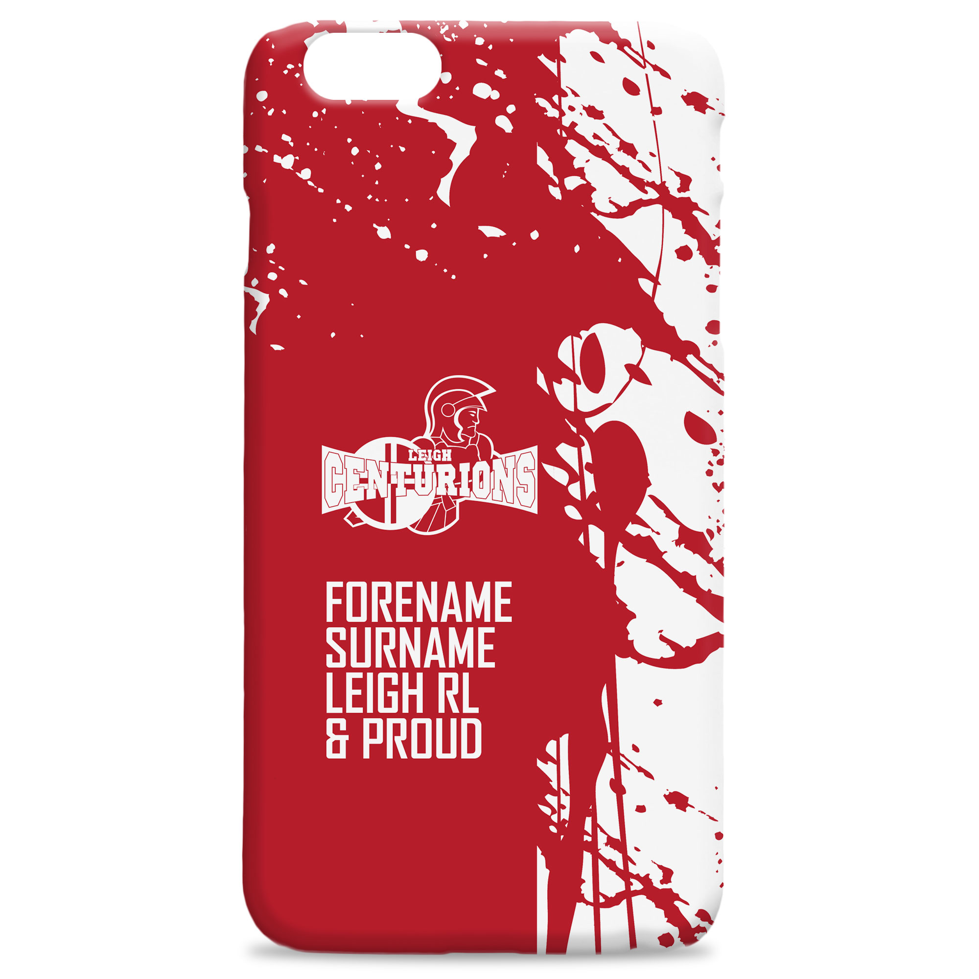 Leigh Centurions Proud Hard Back Phone Case