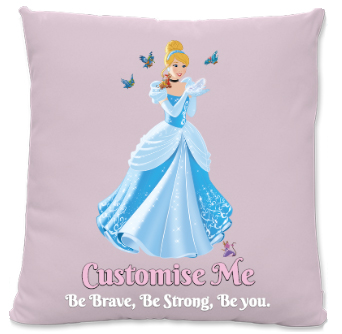 Disney Princess By Me Large Fiber Cushion