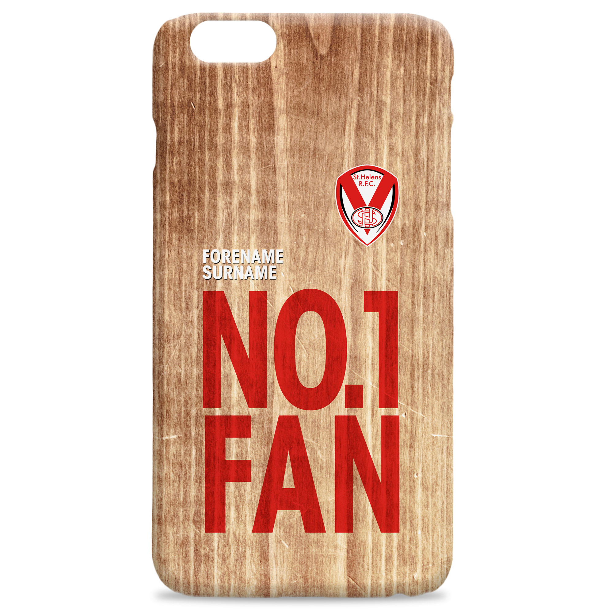 St Helens No 1 Fan Hard Back Phone Case