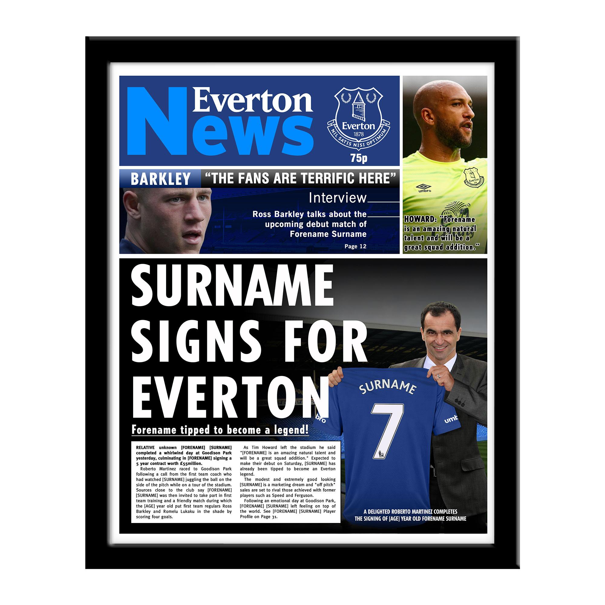 Everton FC News