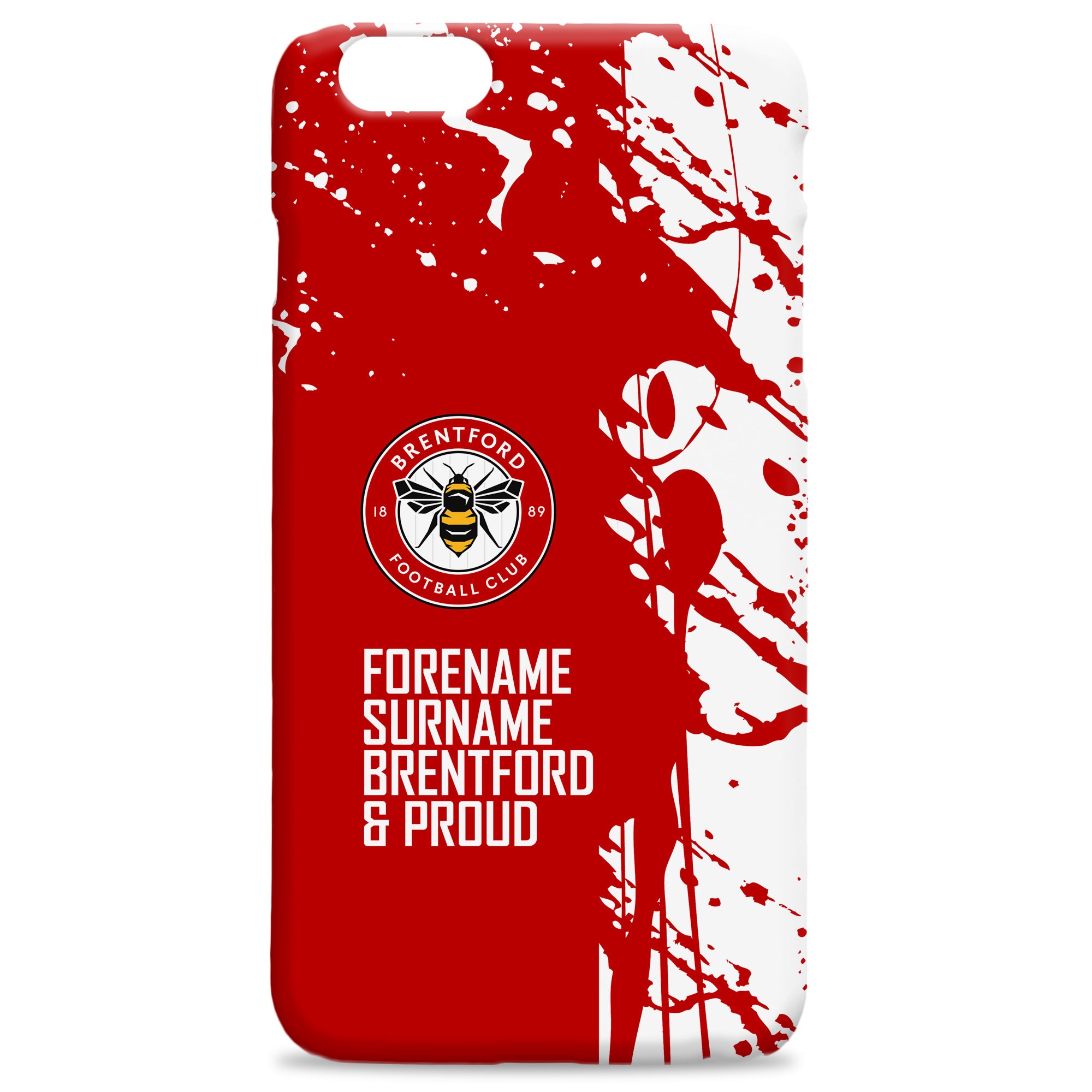 Brentford FC Proud Hard Back Phone Case