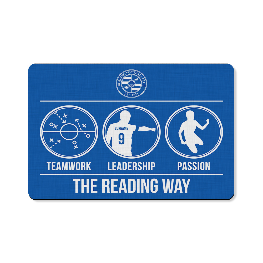 Reading FC Way Floor Mat
