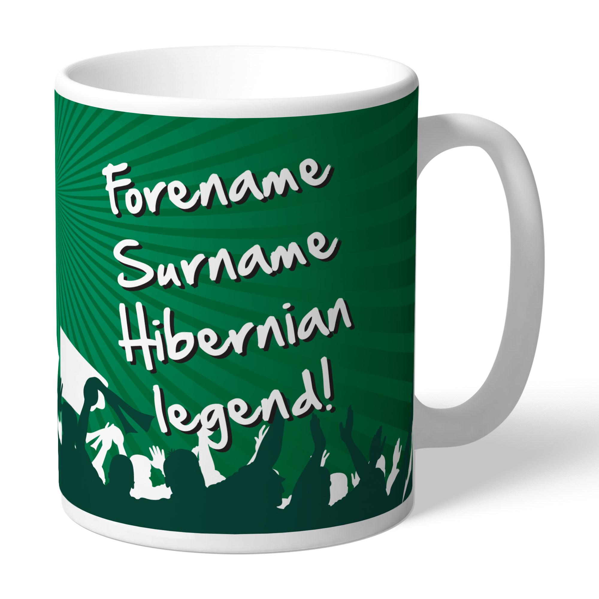 Hibernian FC Legend Mug