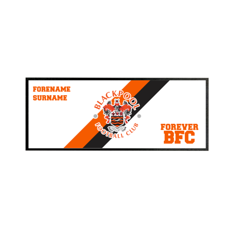 Blackpool Forever Regular Bar Runner