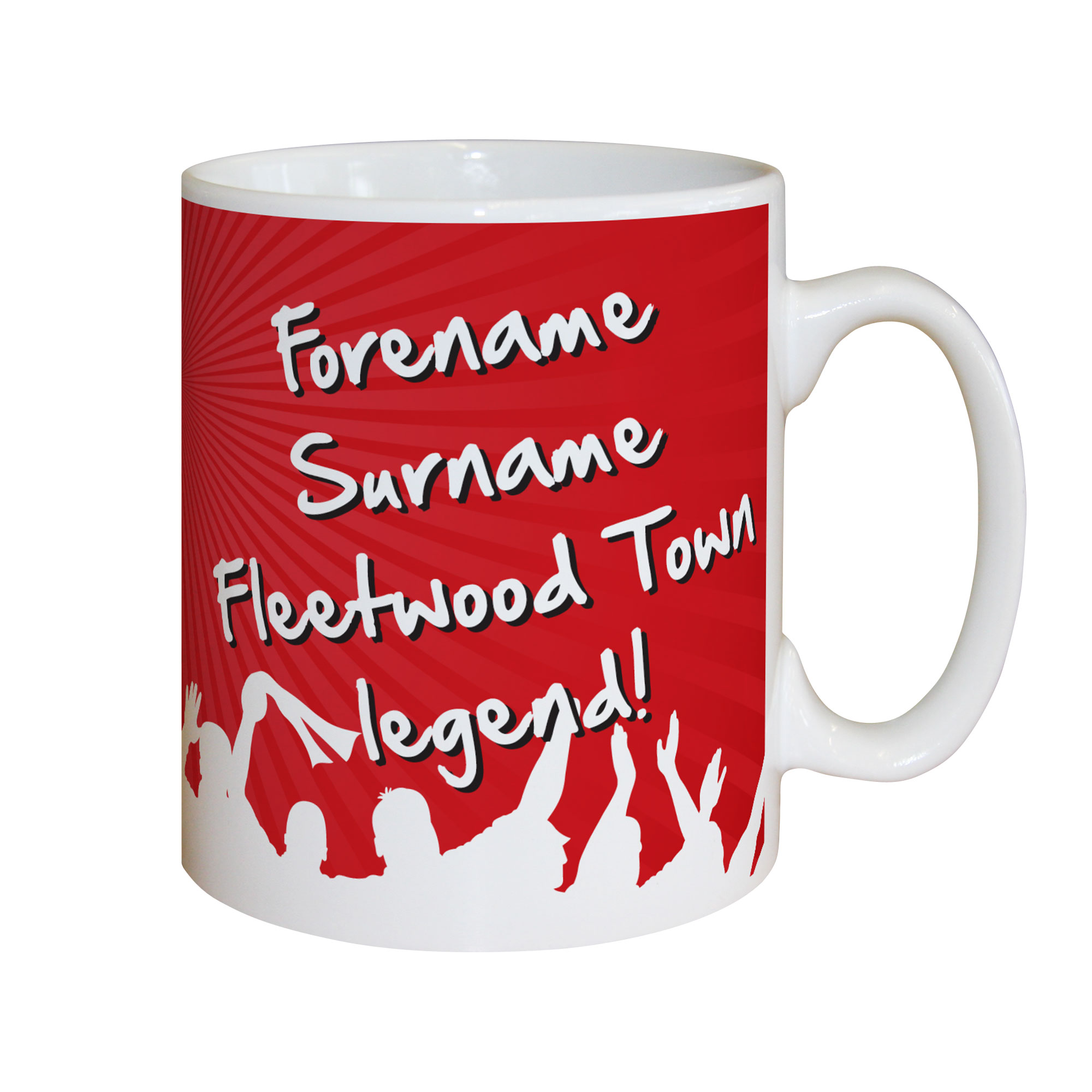 Fleetwood Town FC Legend Mug