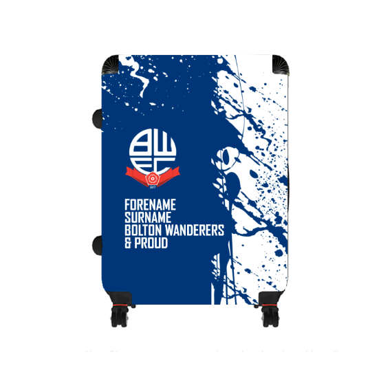 Bolton Wanderers FC Proud Large Suitcase