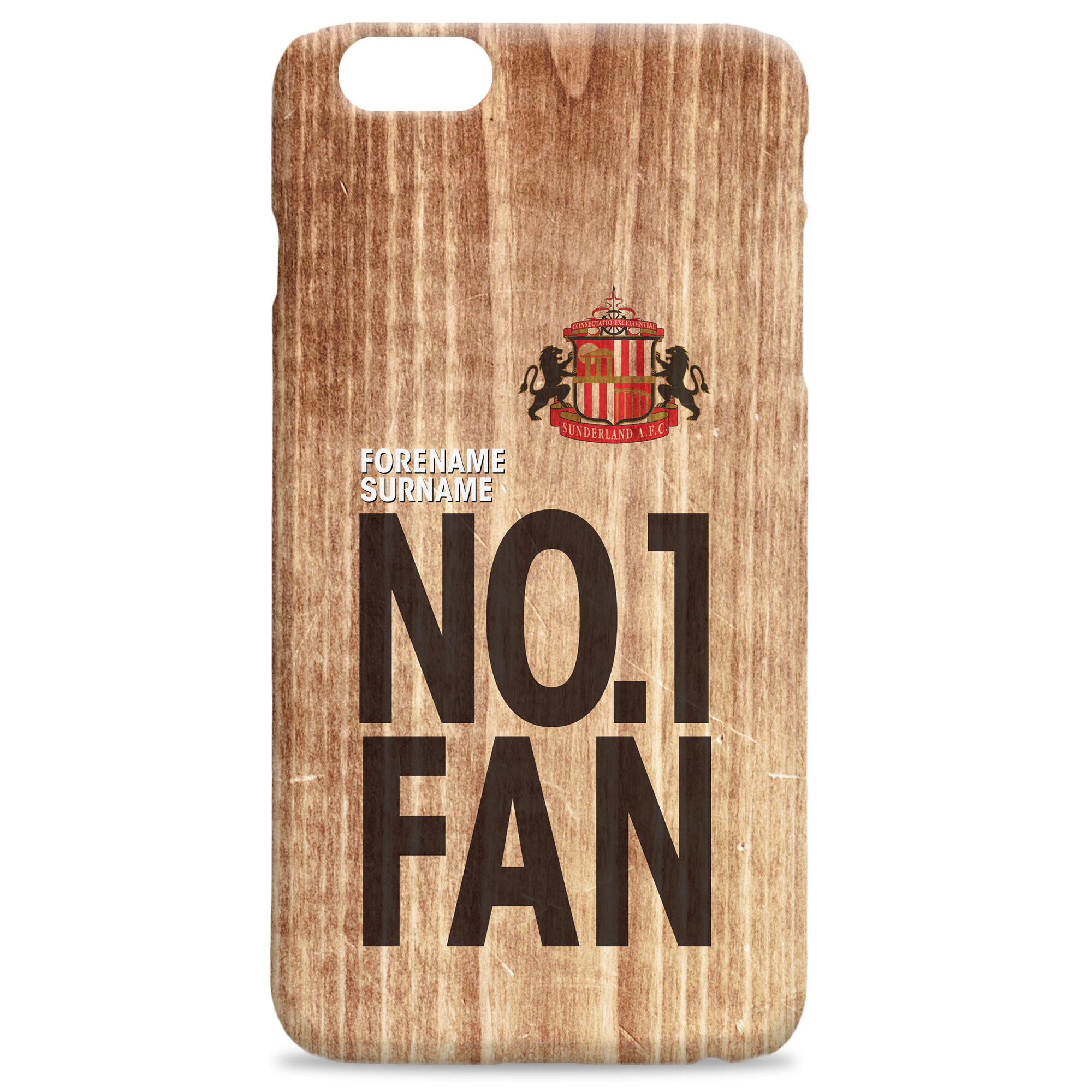Sunderland No 1 Fan Hard Back Phone Case