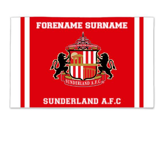 Sunderland Crest 8ft x 5ft Banner