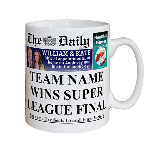 The Daily Rugby League Mug