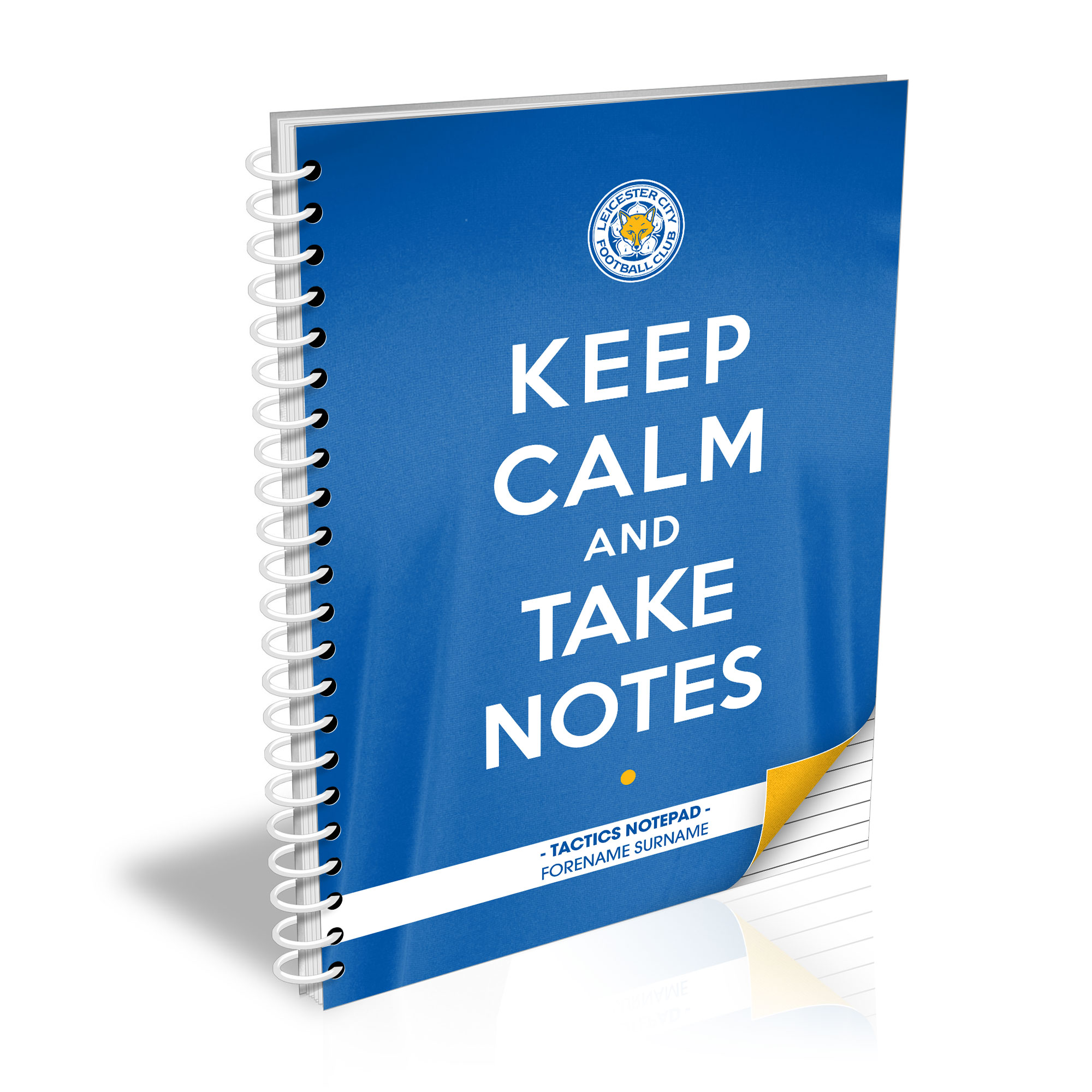 Leicester City FC Keep Calm Notebook