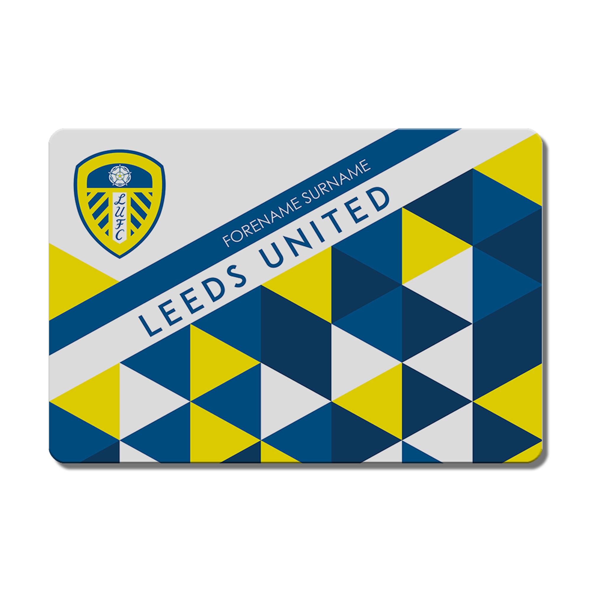 Leeds United FC Patterned Floor Mat