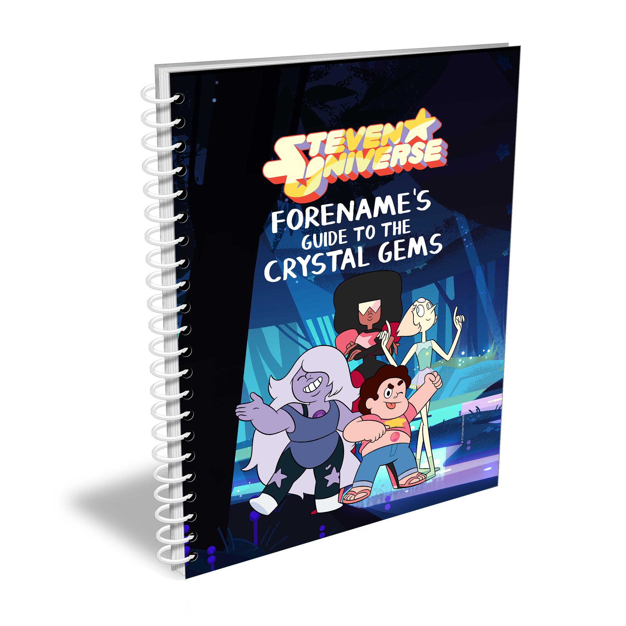 Steven Universe Guide Notebook A4 Notebook