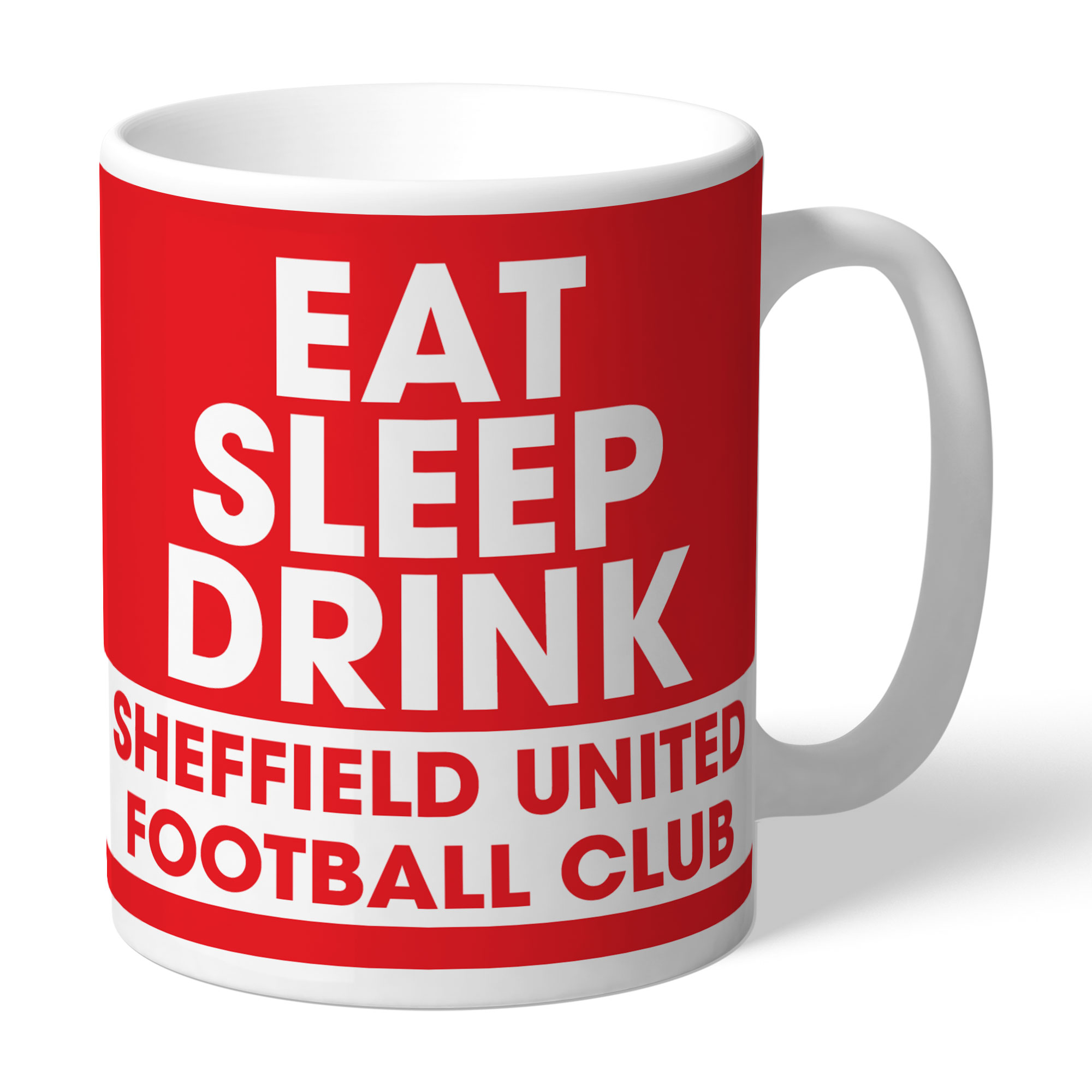 Sheffield United FC Eat Sleep Drink Mug