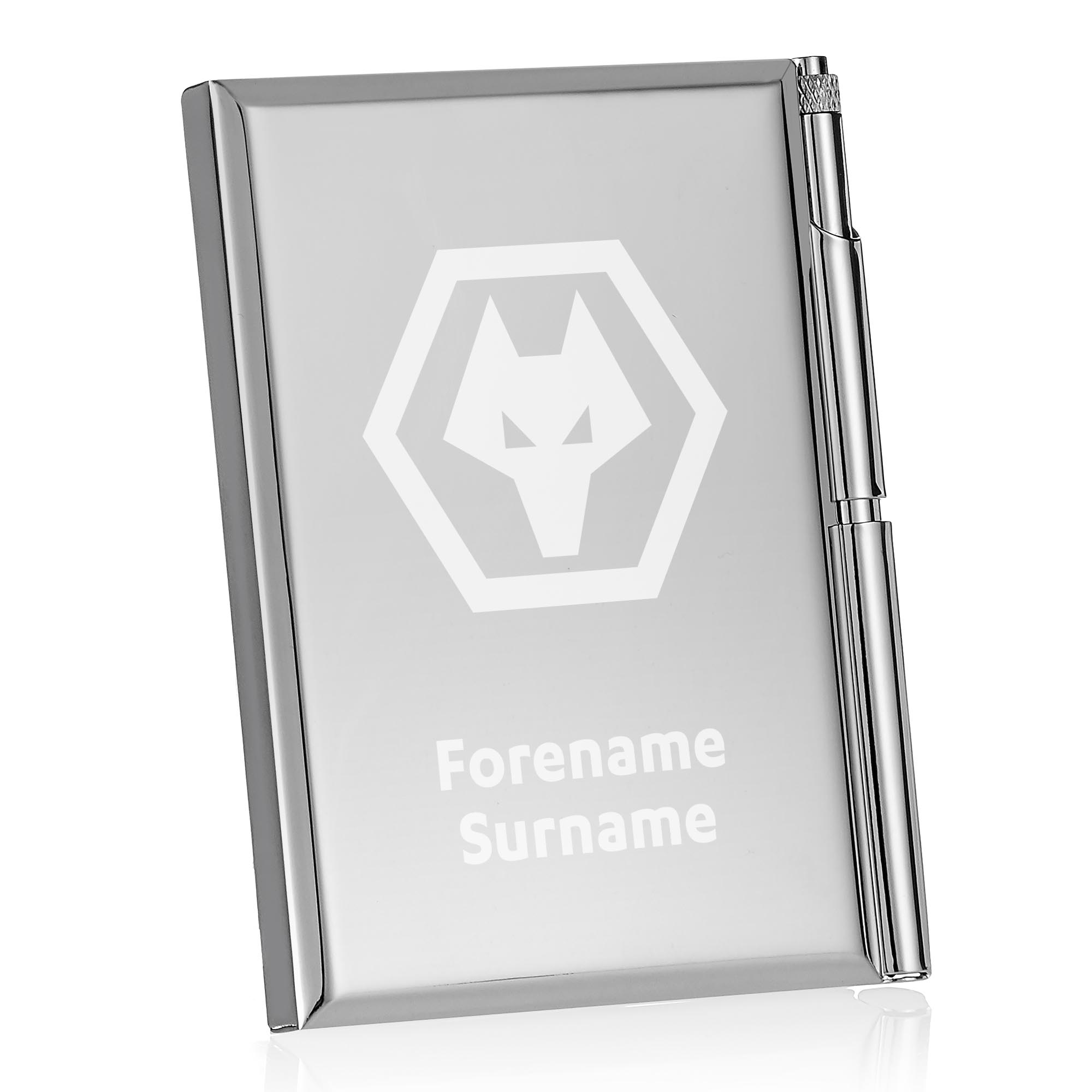 Wolves Crest Address Book