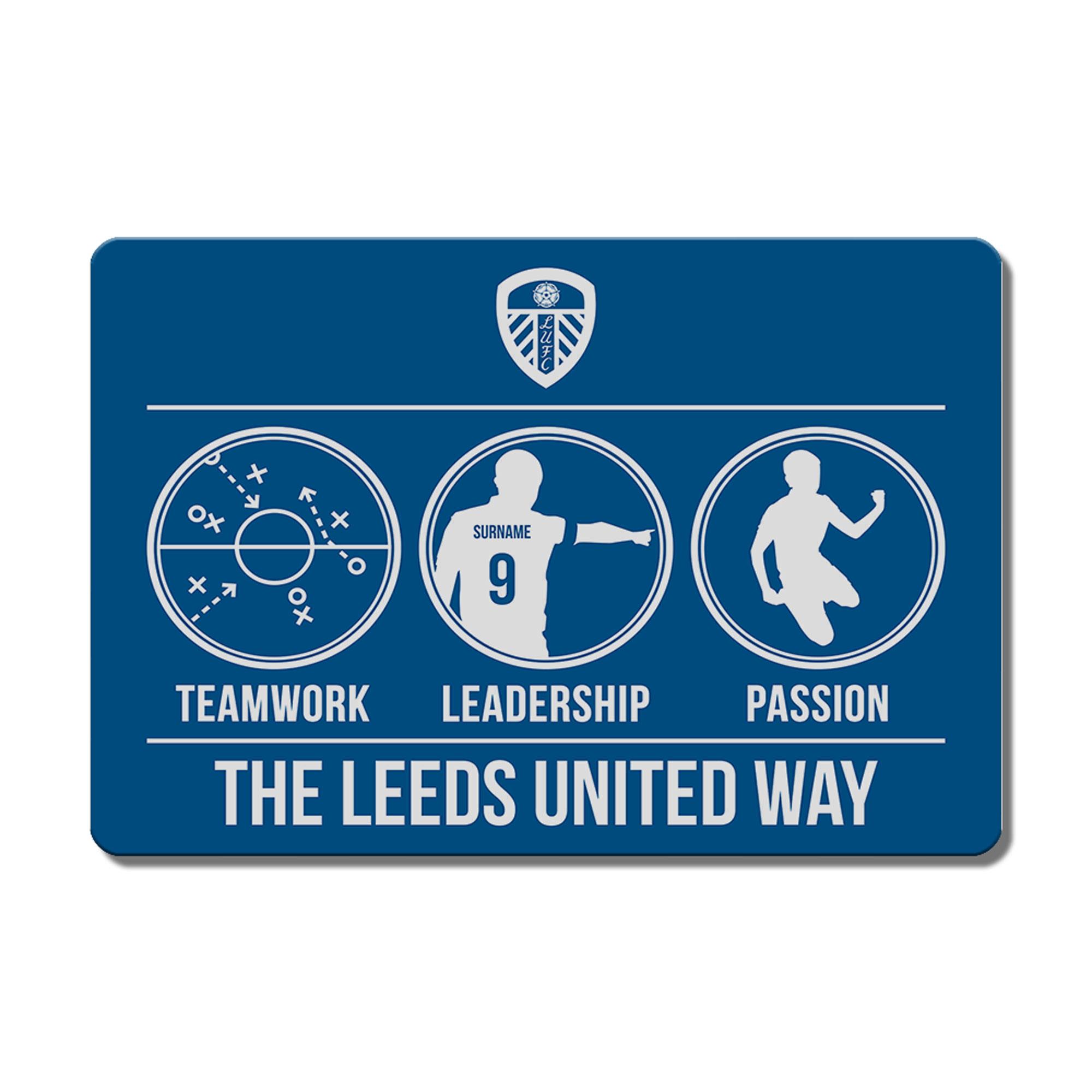 Leeds United FC Way Floor Mat