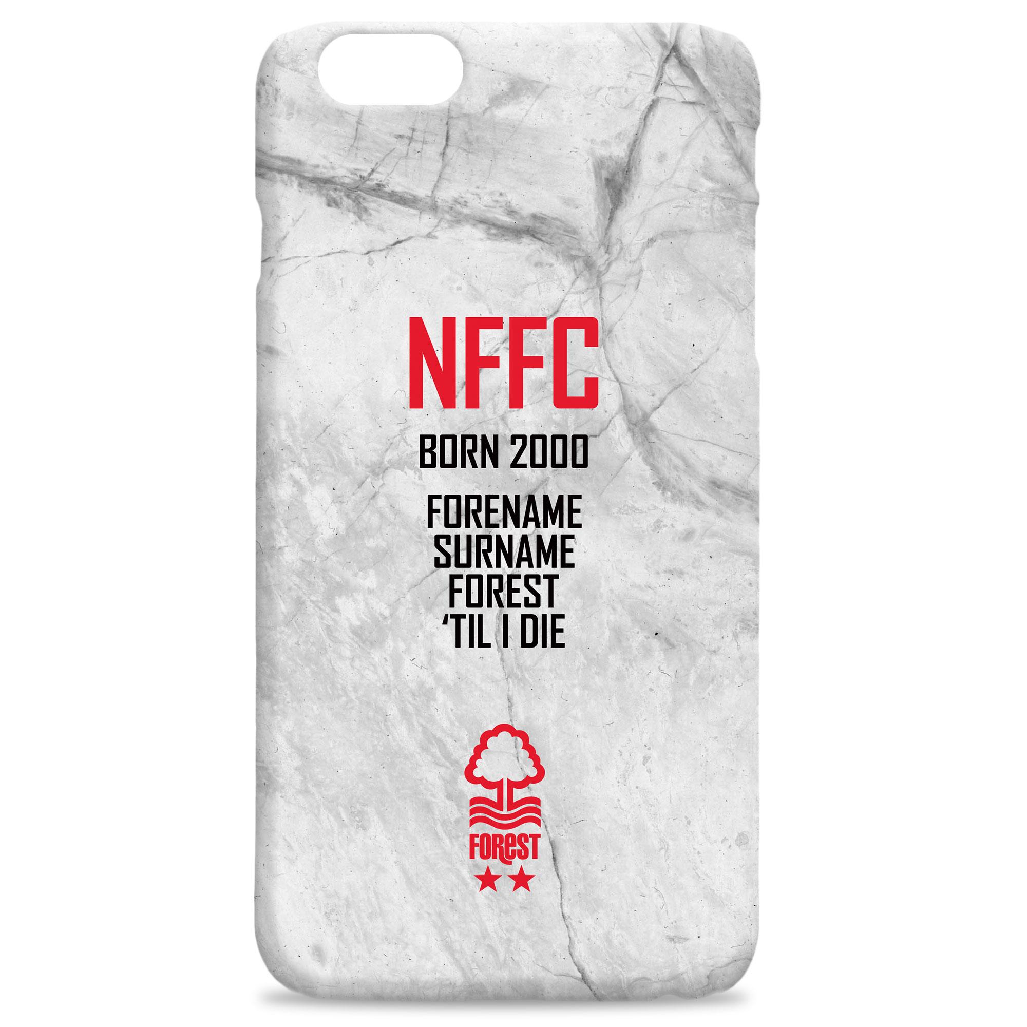 Nottingham Forest FC 'Til I Die Hard Back Phone Case