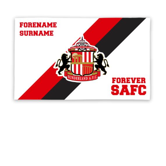 Sunderland Forever 5ft x 3ft Banner