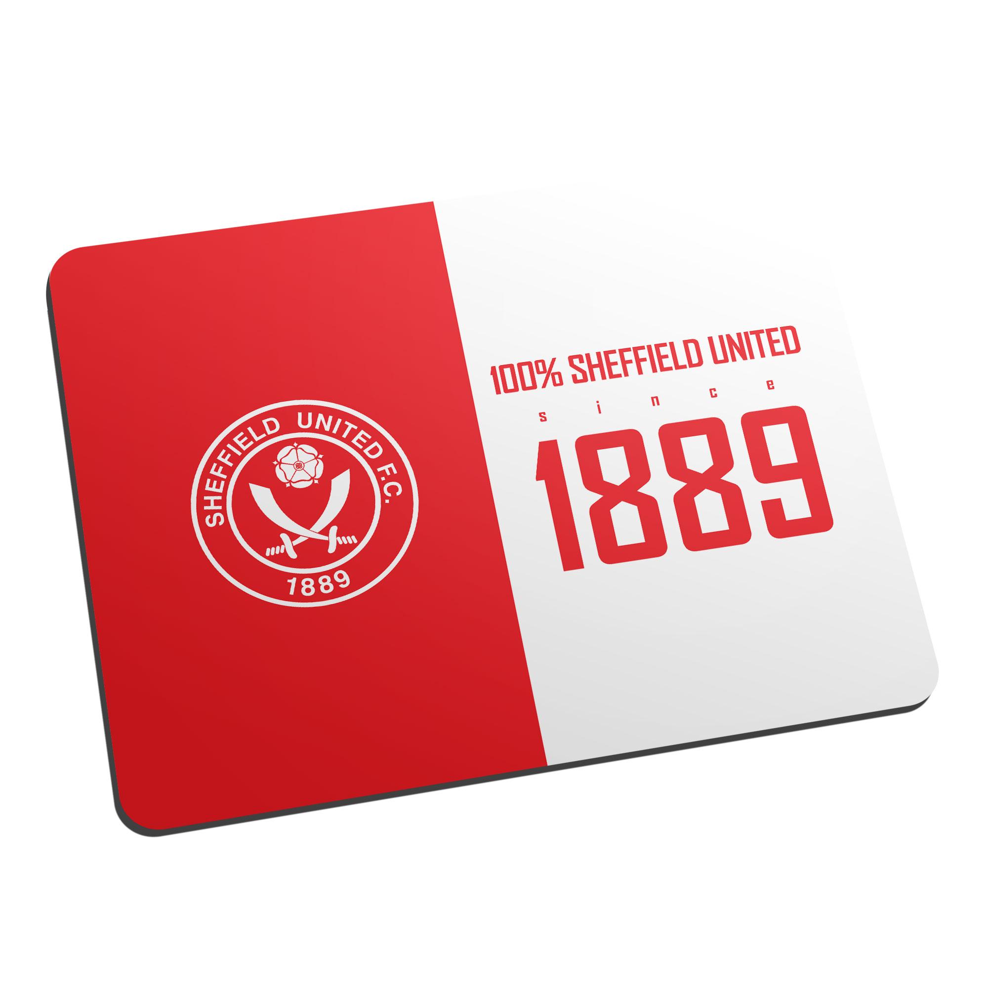 Sheffield United FC 100 Percent Mouse Mat