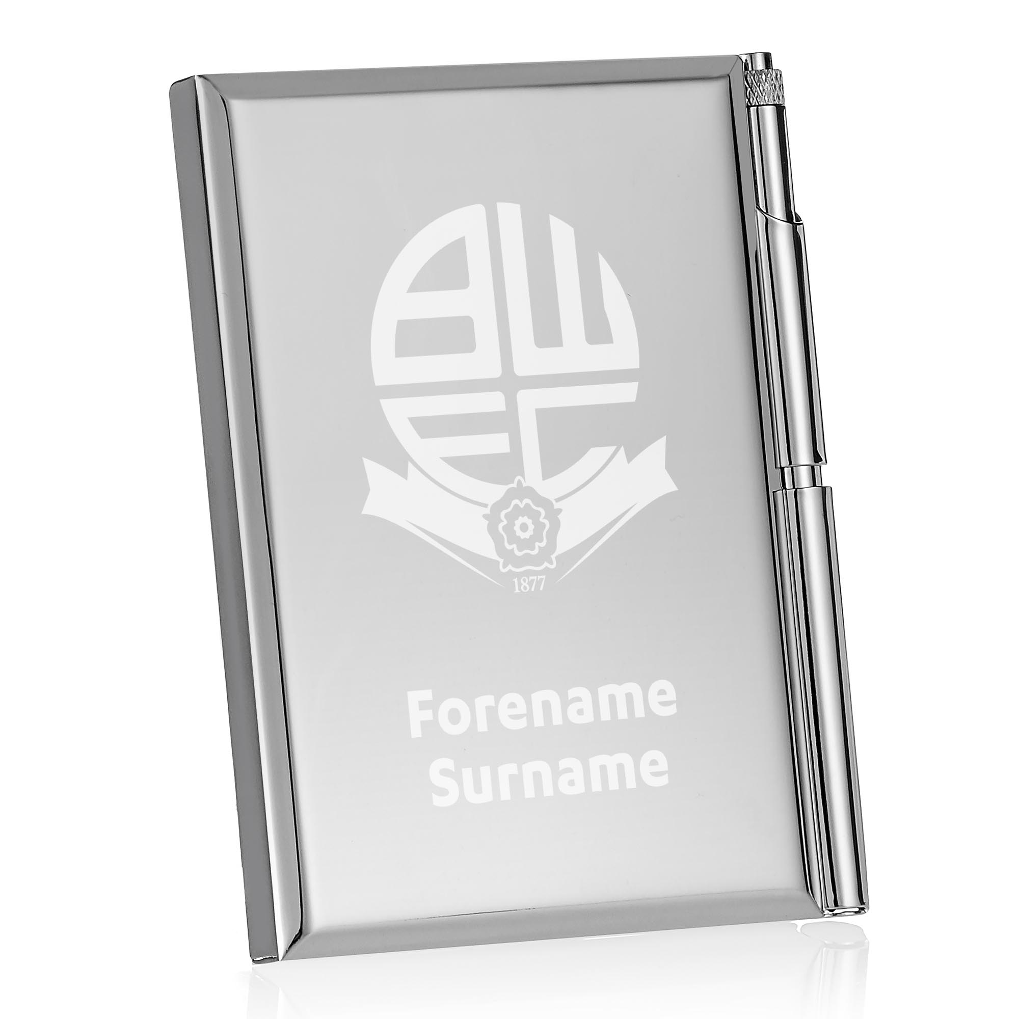 Bolton Wanderers FC Crest Address Book