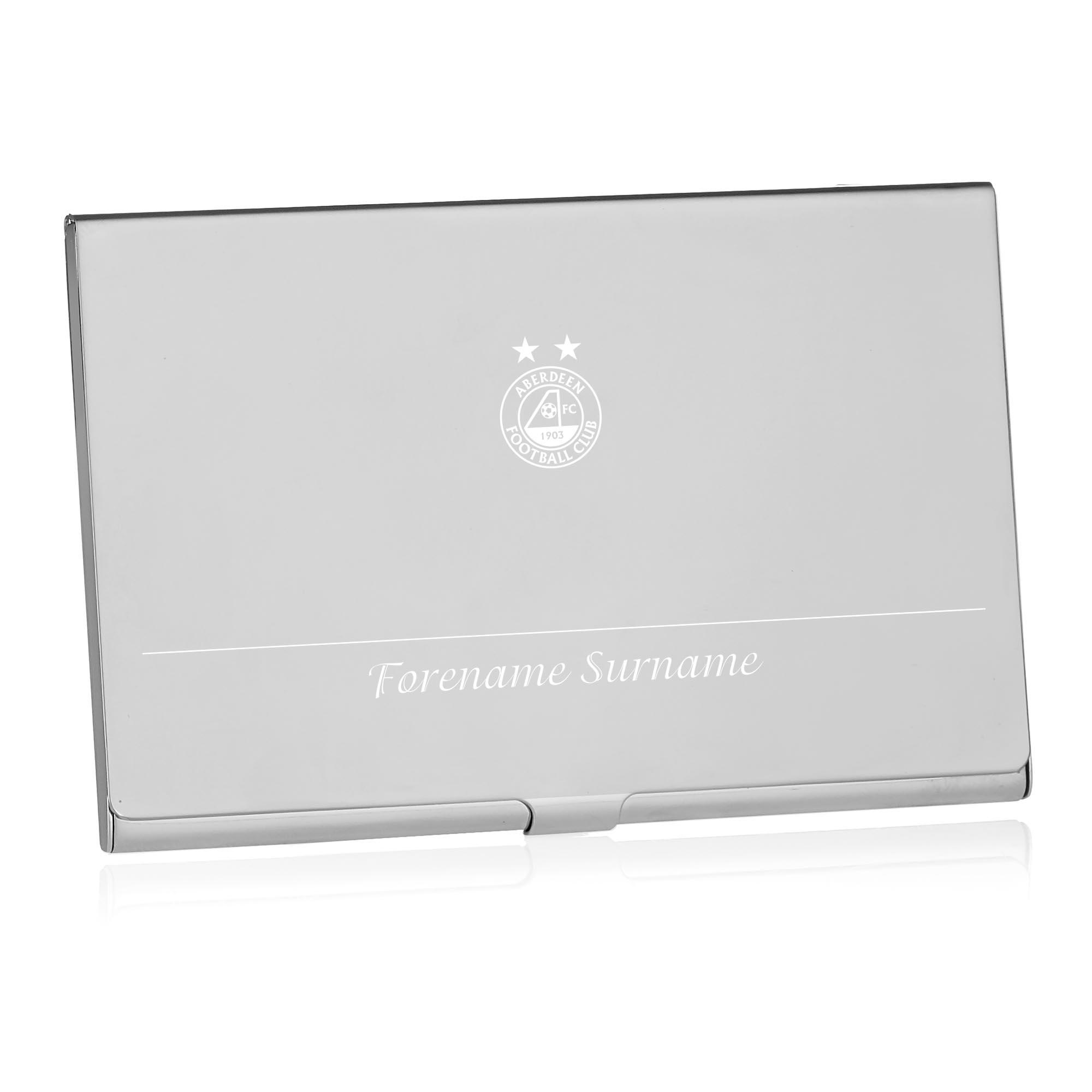 Aberdeen FC Executive Business Card Holder