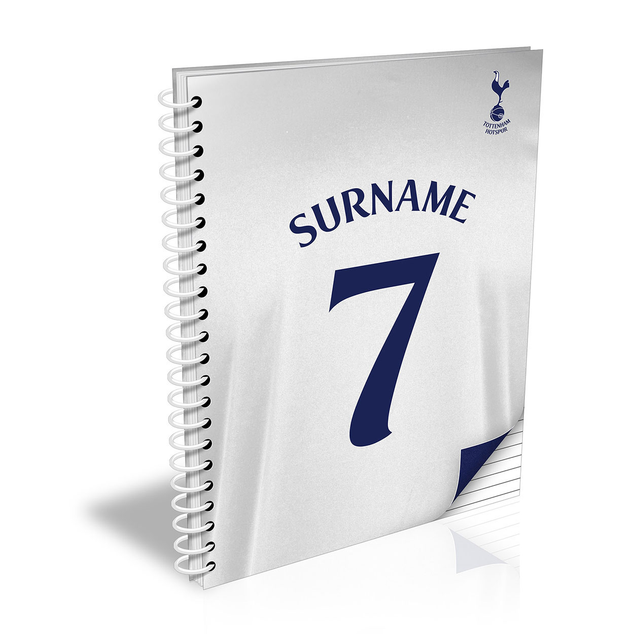 Tottenham Hotspur Shirt Notebook