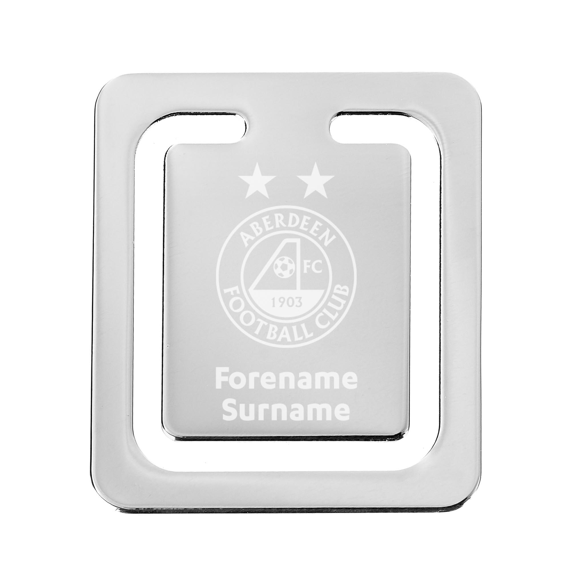 Aberdeen FC Crest Bookmark