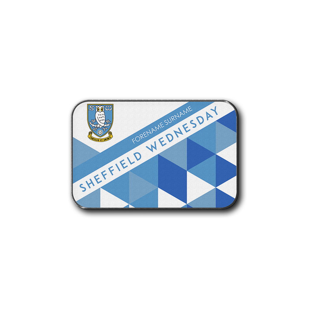 Sheffield Wednesday FC Patterned Rear Car Mat