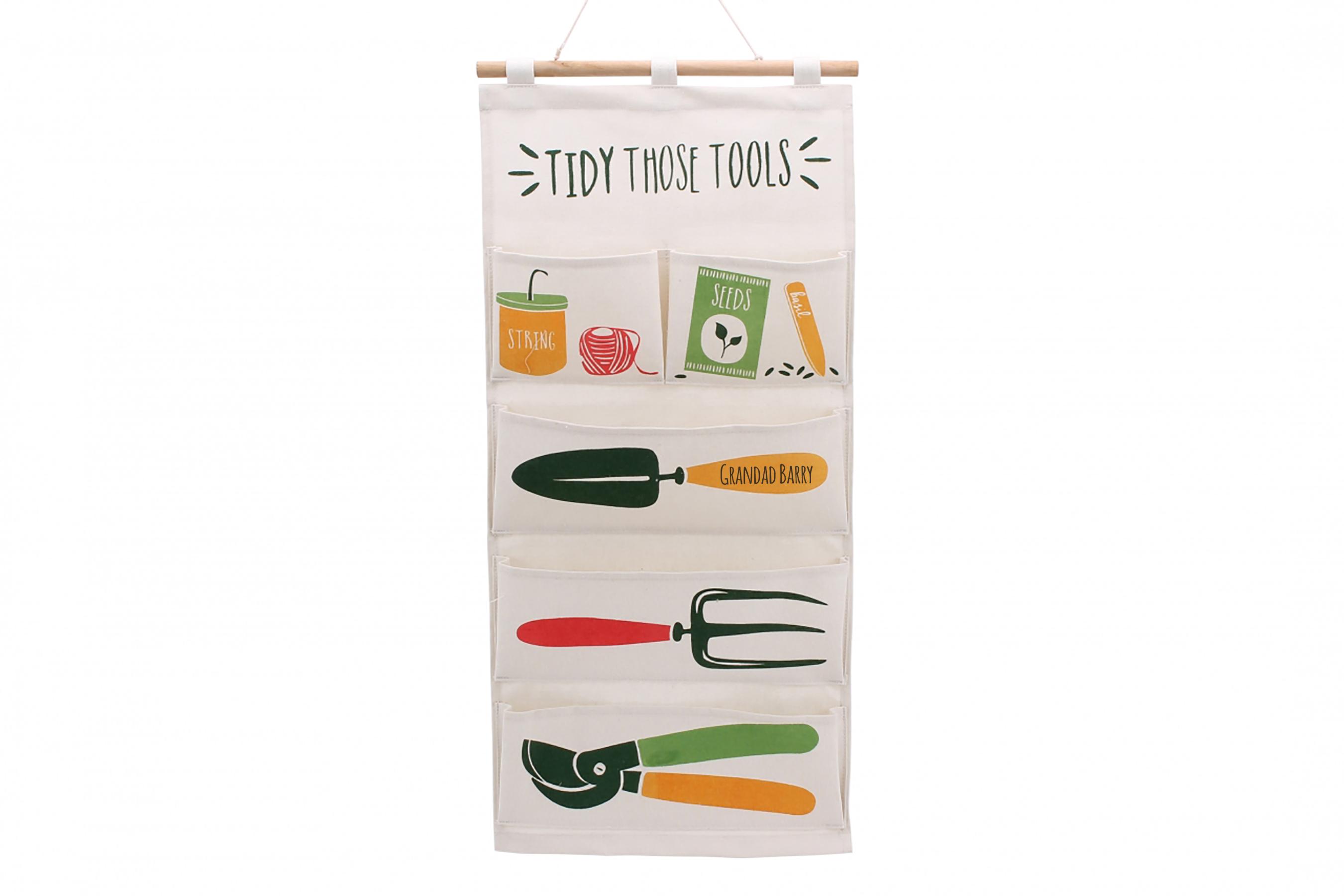 Personalised Hanging Tool Tidy