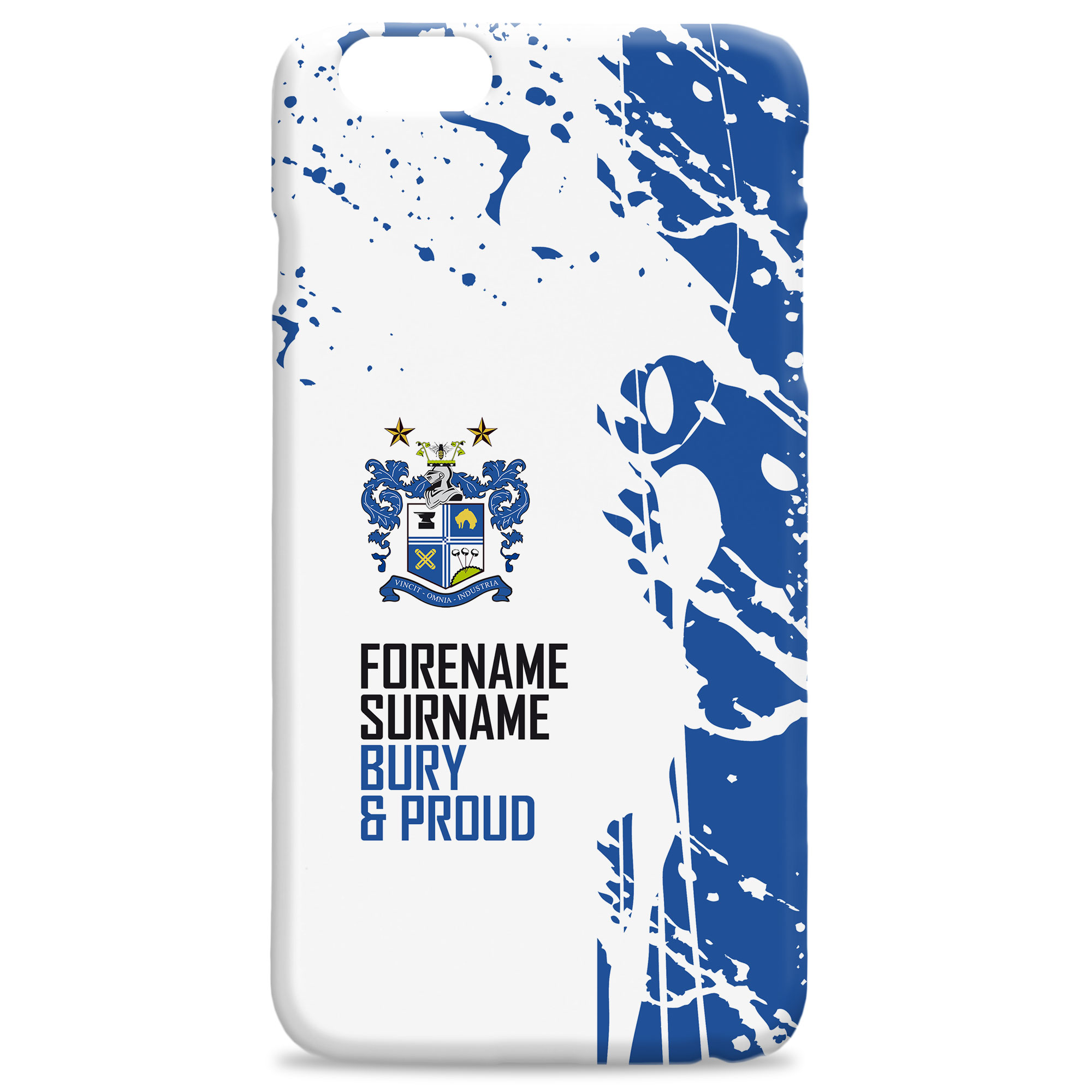 Bury FC Proud Hard Back Phone Case