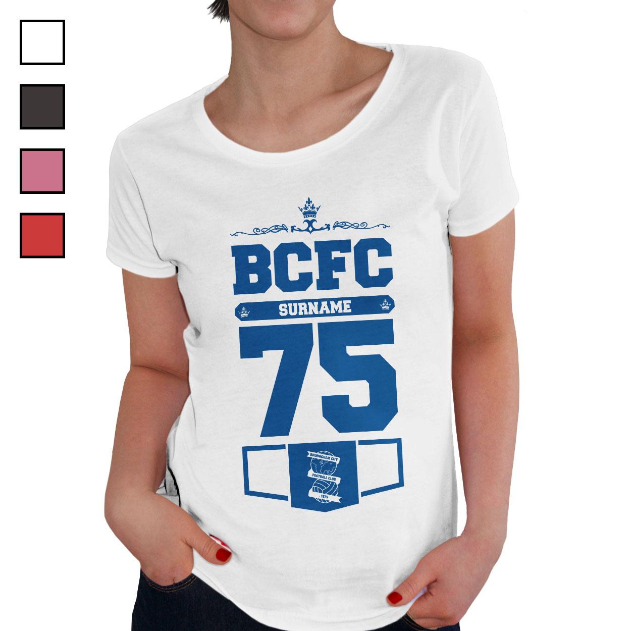 Birmingham City FC Ladies Club T-Shirt
