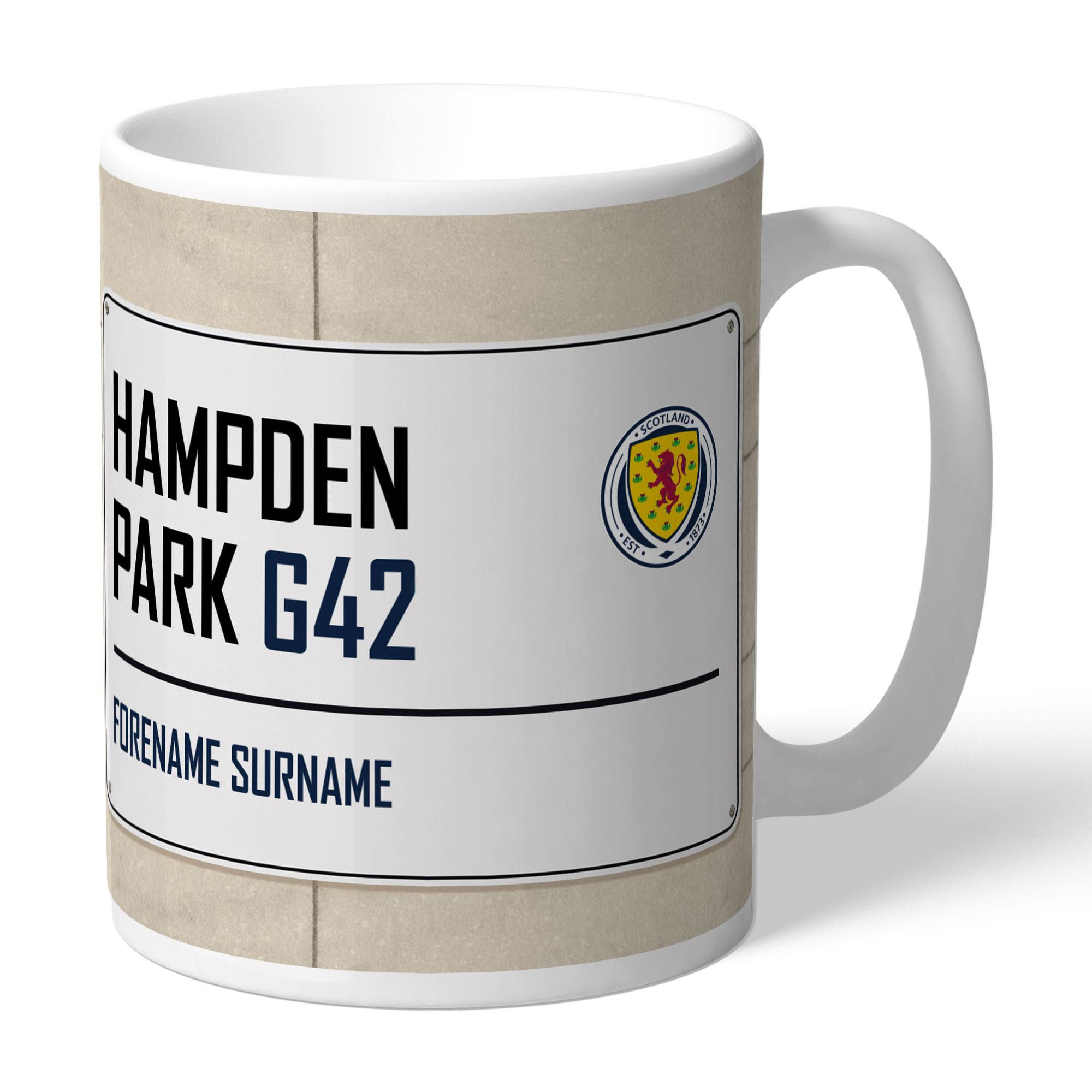 Scotland Street Sign Mug