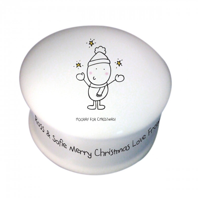 Chilli & Bubble's Generic Christmas Trinket Box