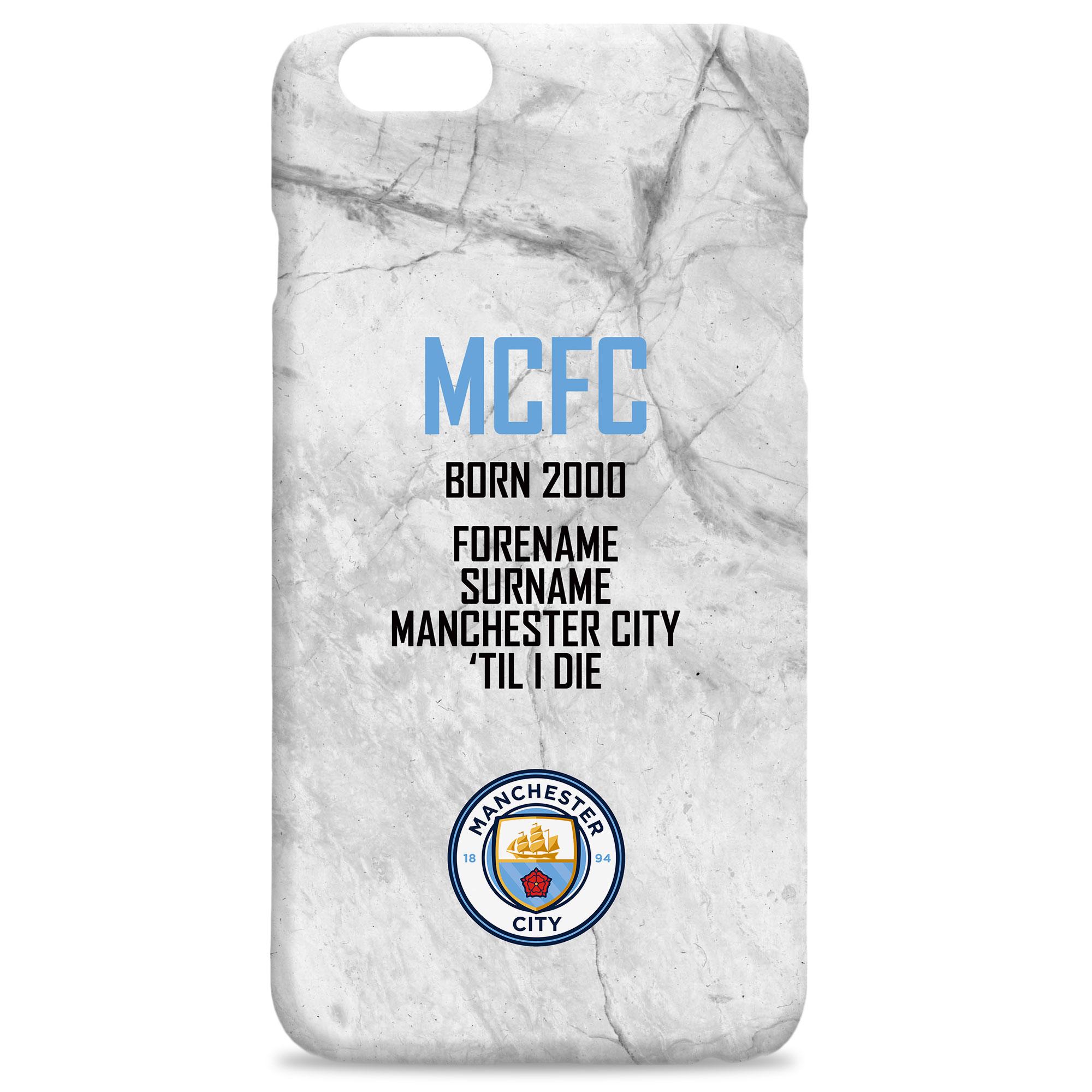 Manchester City FC 'Til I Die Hard Back Phone Case
