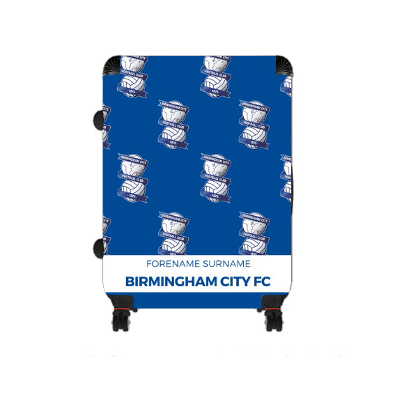 Birmingham City Mini Crest Large Suitcase