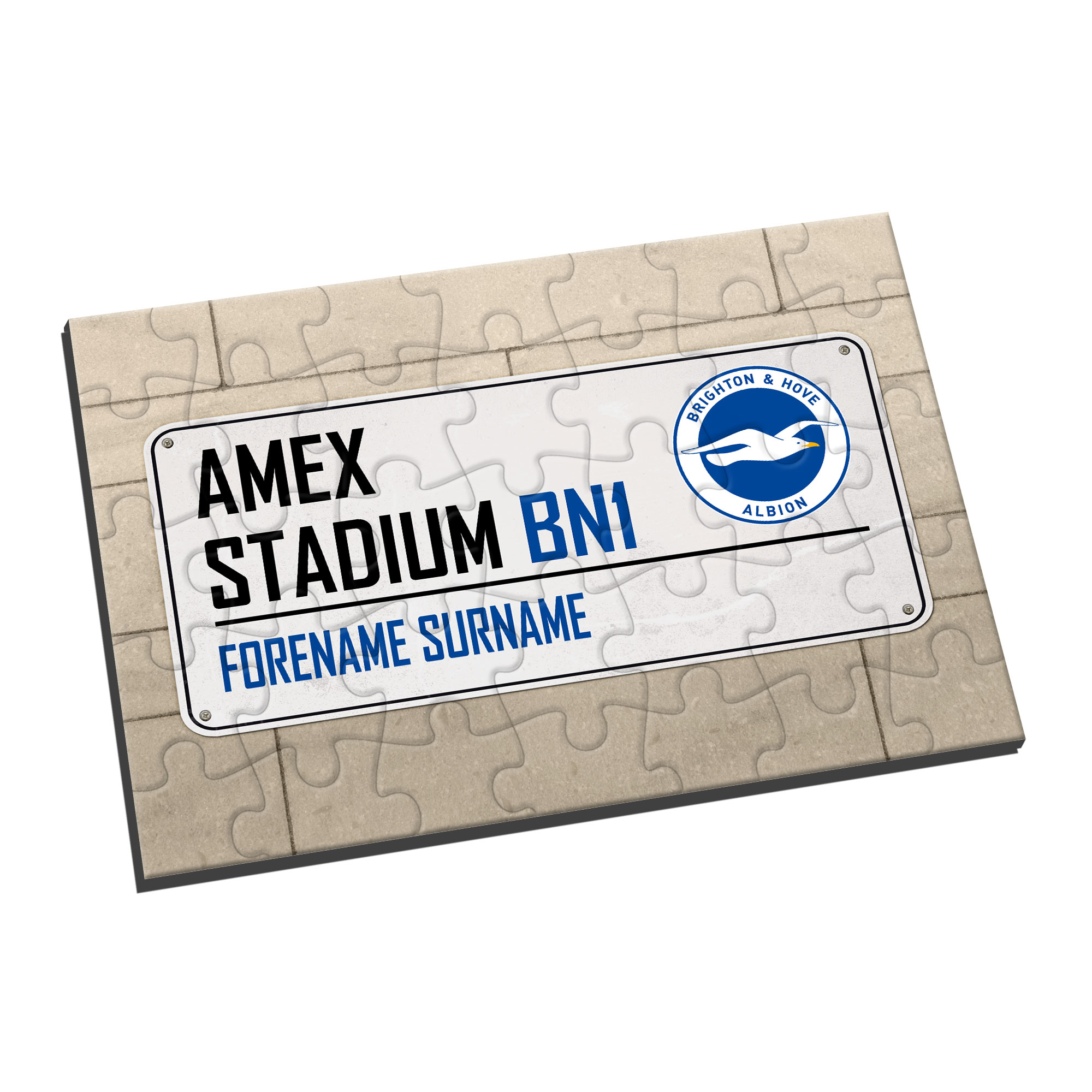 Brighton & Hove Albion FC Street Sign Jigsaw
