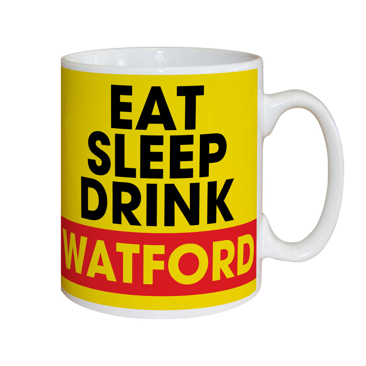 Watford FC Eat Sleep Drink Mug