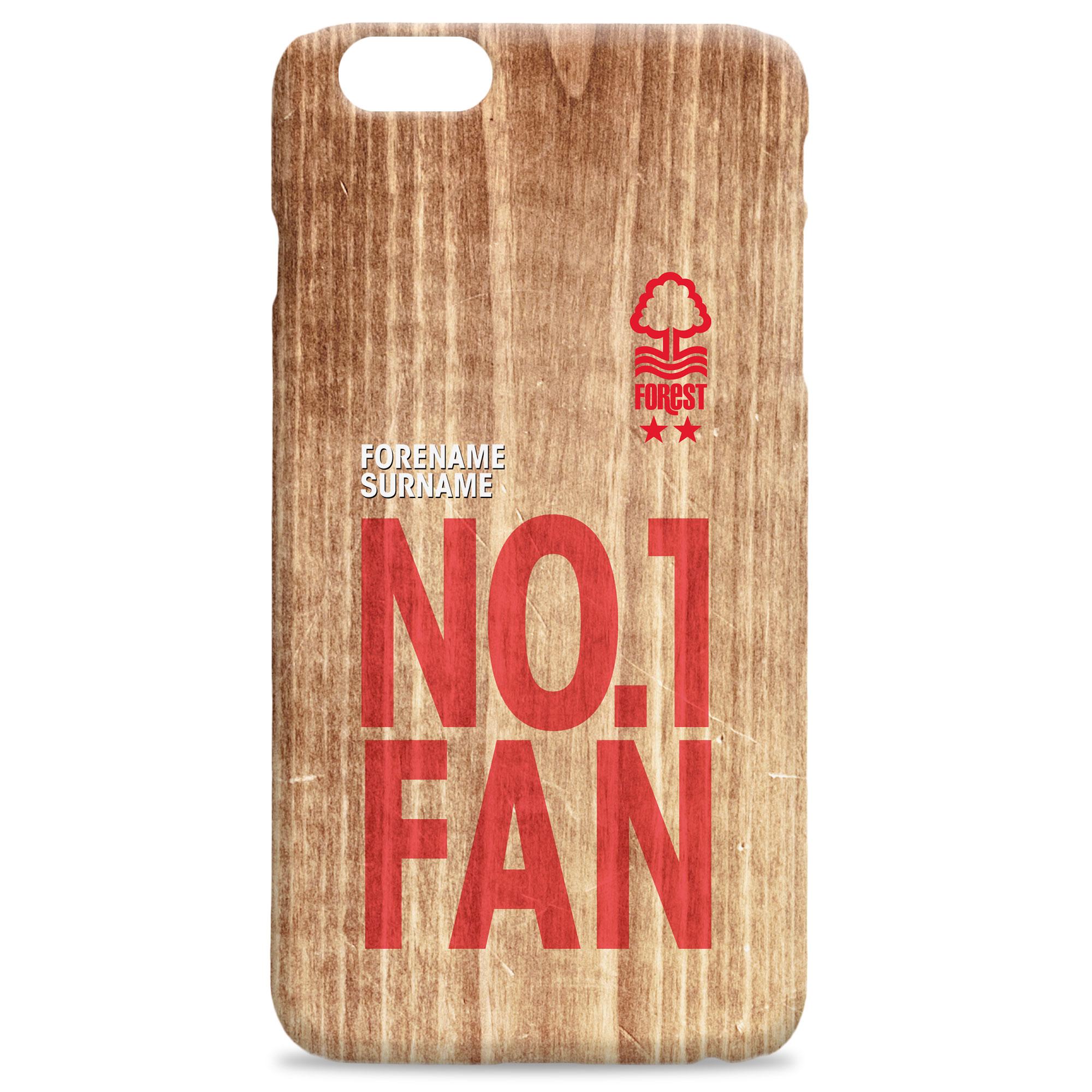 Nottingham Forest FC No 1 Fan Hard Back Phone Case