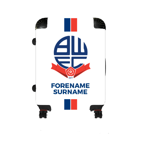 Bolton Wanderers FC Stripe Medium Suitcase