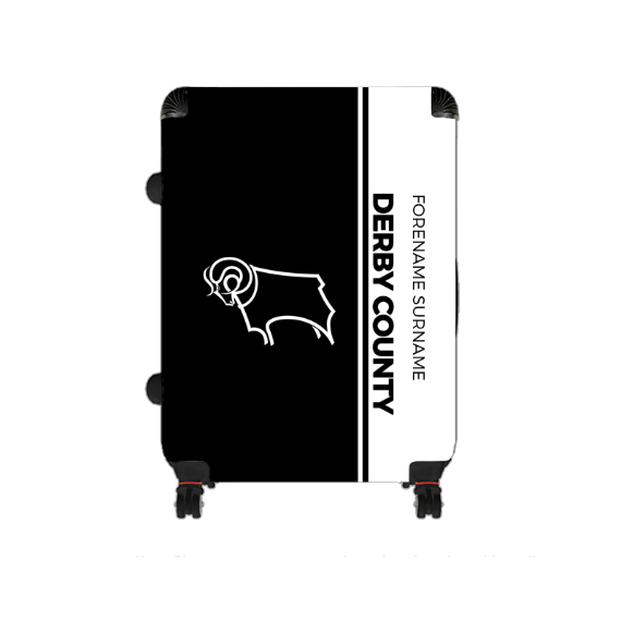 Derby County Crest Large Suitcase