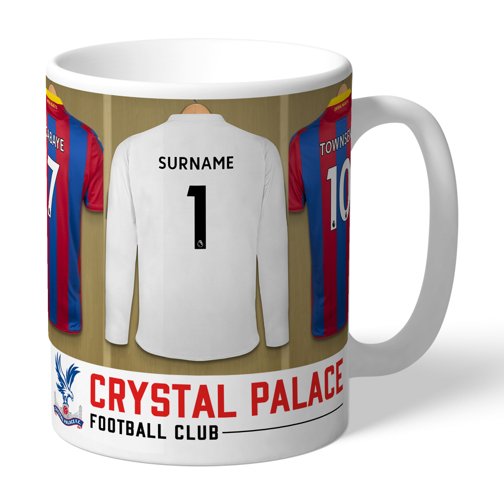 Crystal Palace FC Goalkeeper Dressing Room Mug