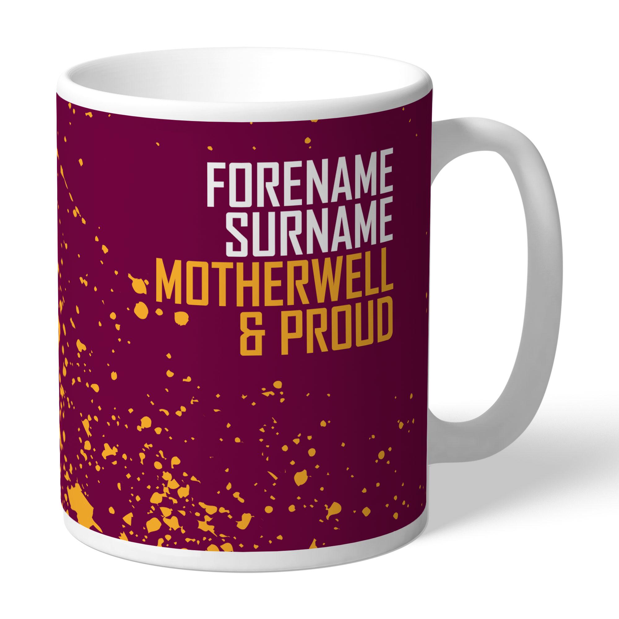 Motherwell FC Proud Mug