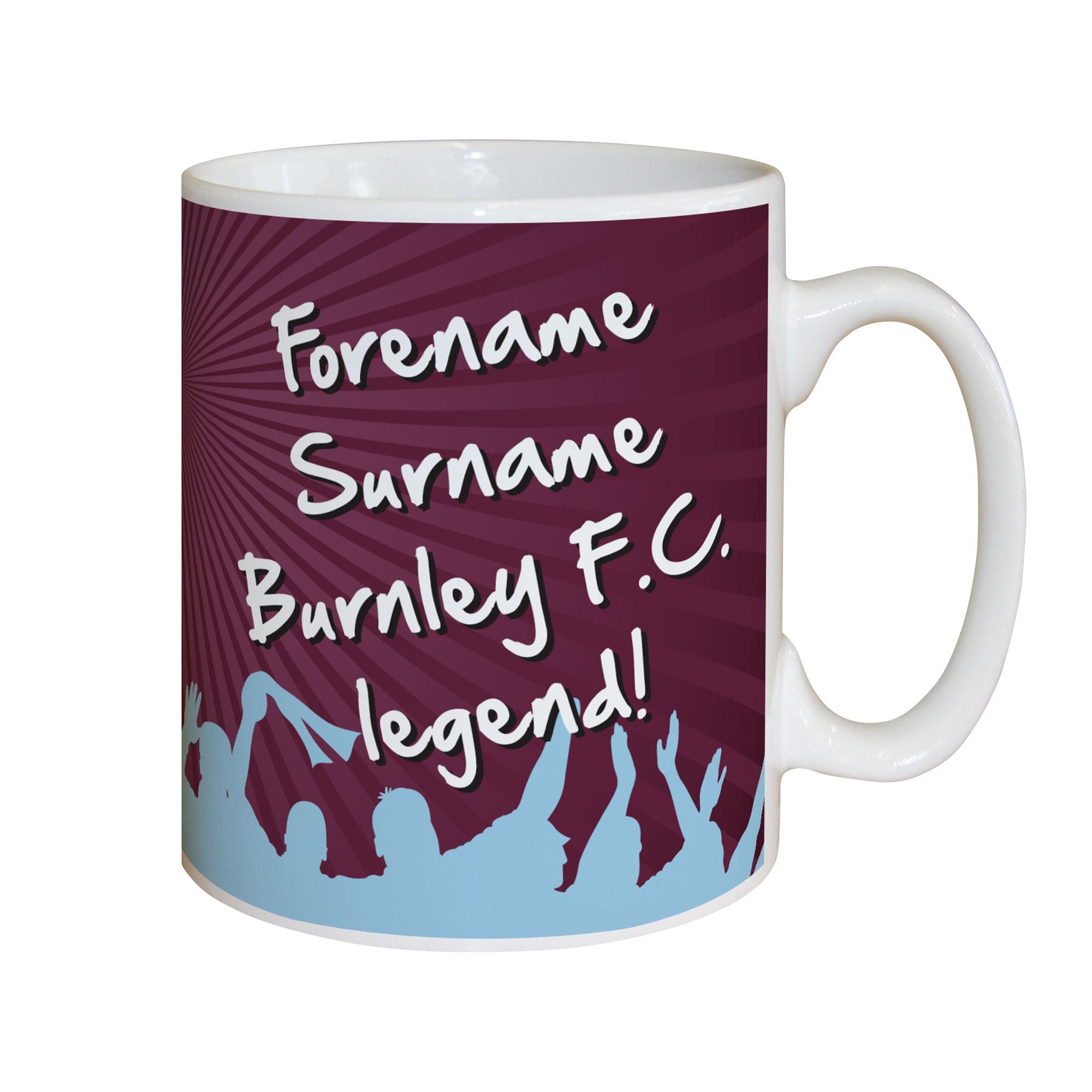 Burnley FC Legend Mug