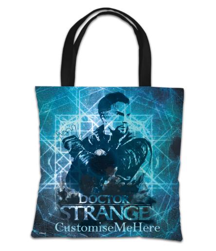 Marvel Doctor Strange 'Blue' Tote Bag