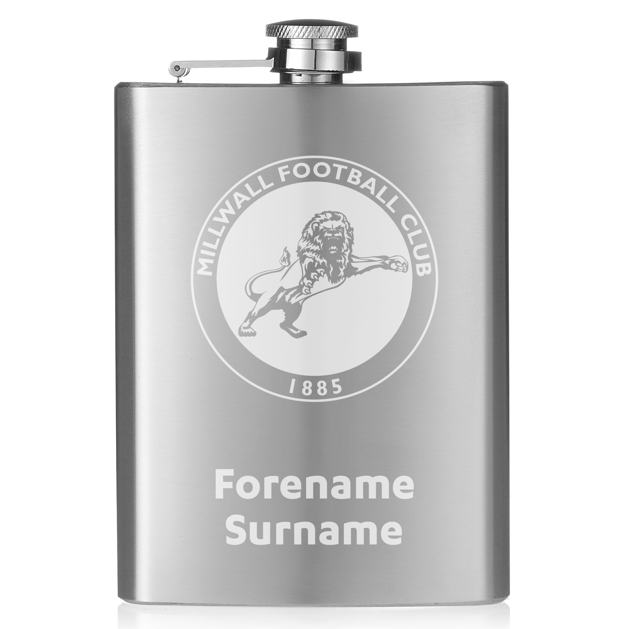 Millwall FC Crest Hip Flask