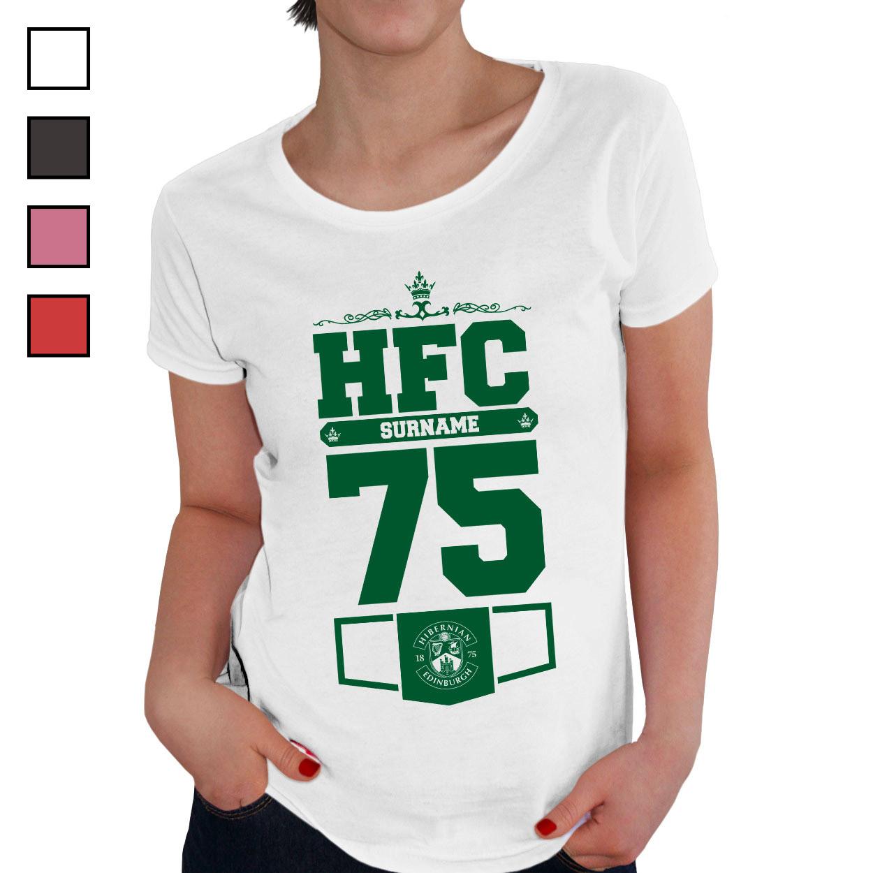 Hibernian FC Ladies Club T-Shirt