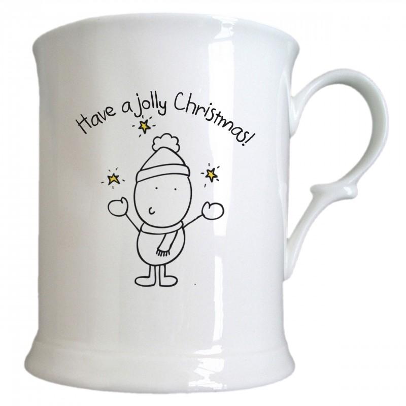 Chilli & Bubble's Jolly Christmas Half Pint Tankard