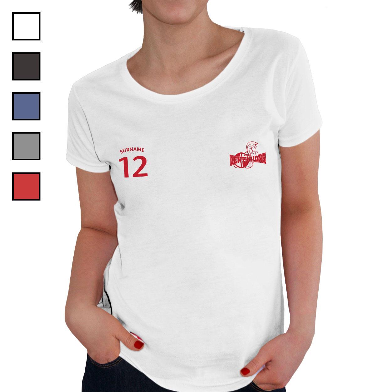Leigh Centurions Ladies Sports T-Shirt